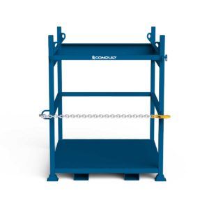 IBC Lifting Frame, blue render, white BG