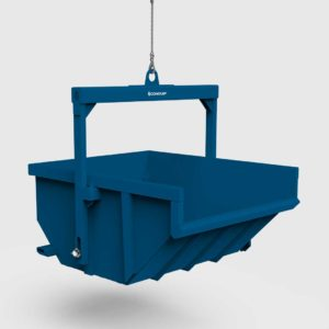 conquip boat skip lifted side view