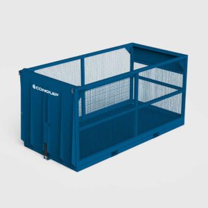 goods material lifting cage
